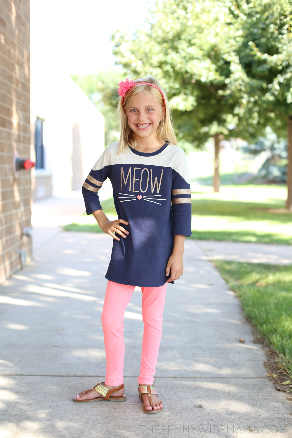 Back to School Style with OshKosh B'gosh: mix-and-match tunic & leggings