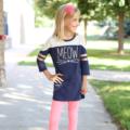 2016 Back to School Style with OshKosh B'gosh: mix-and-match tunic & leggings