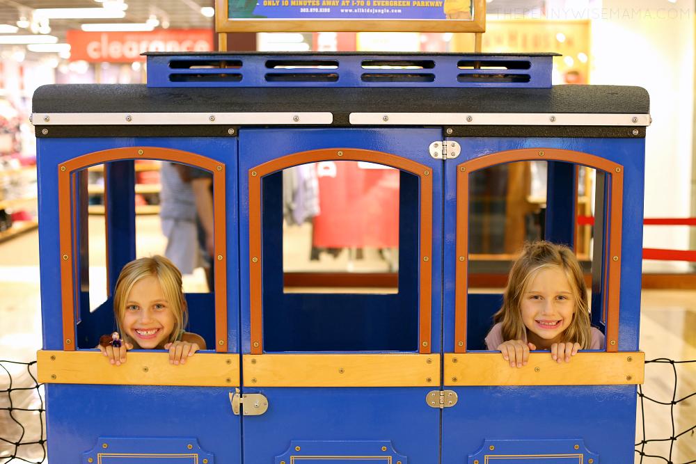 Train at Colorado Mills