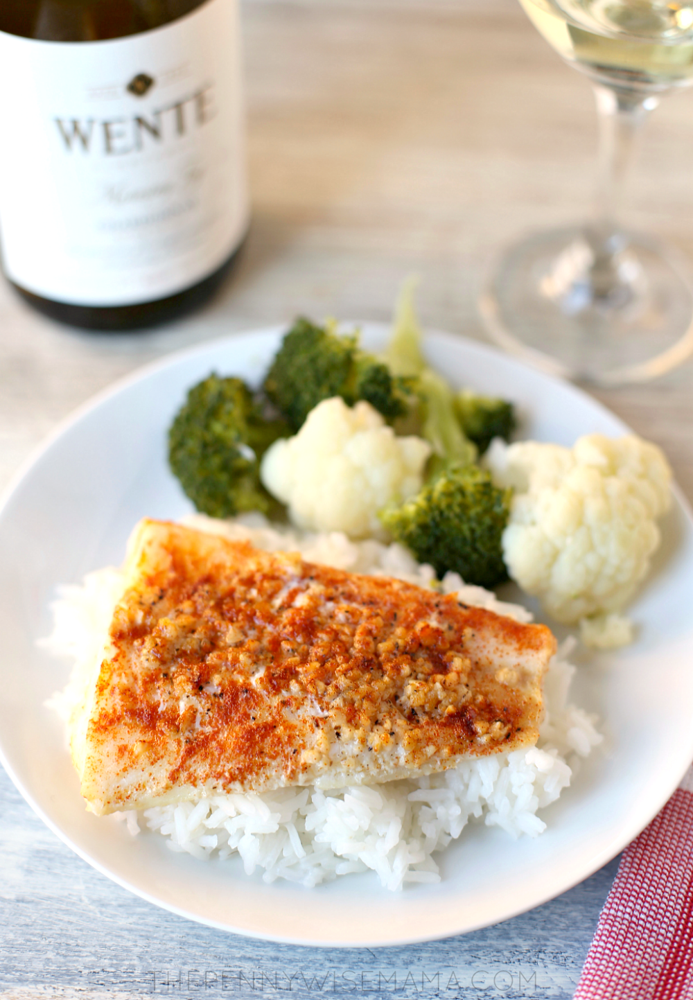 Lemon Garlic Baked Cod - Delicious, easy meal for busy nights!
