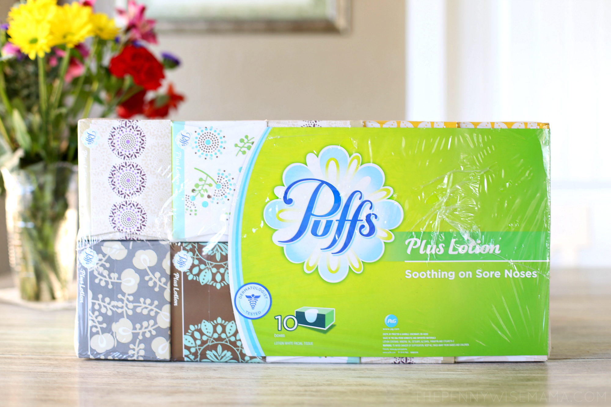 Puffs Plus Lotion - available at Sam's Cllub