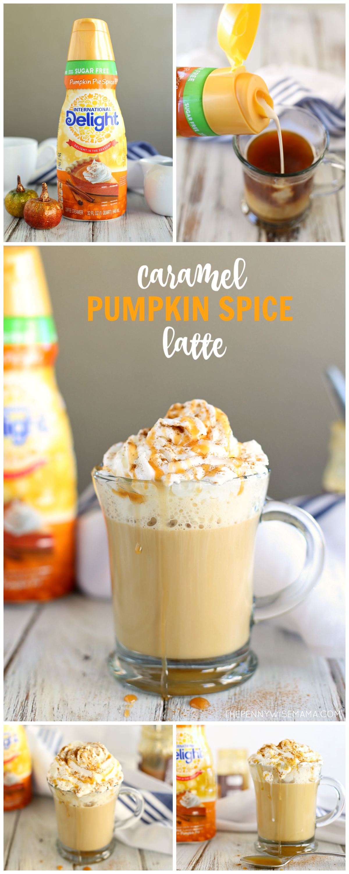 Caramel Pumpkin Spice Latte - a simple & delicious recipe that will save you money!