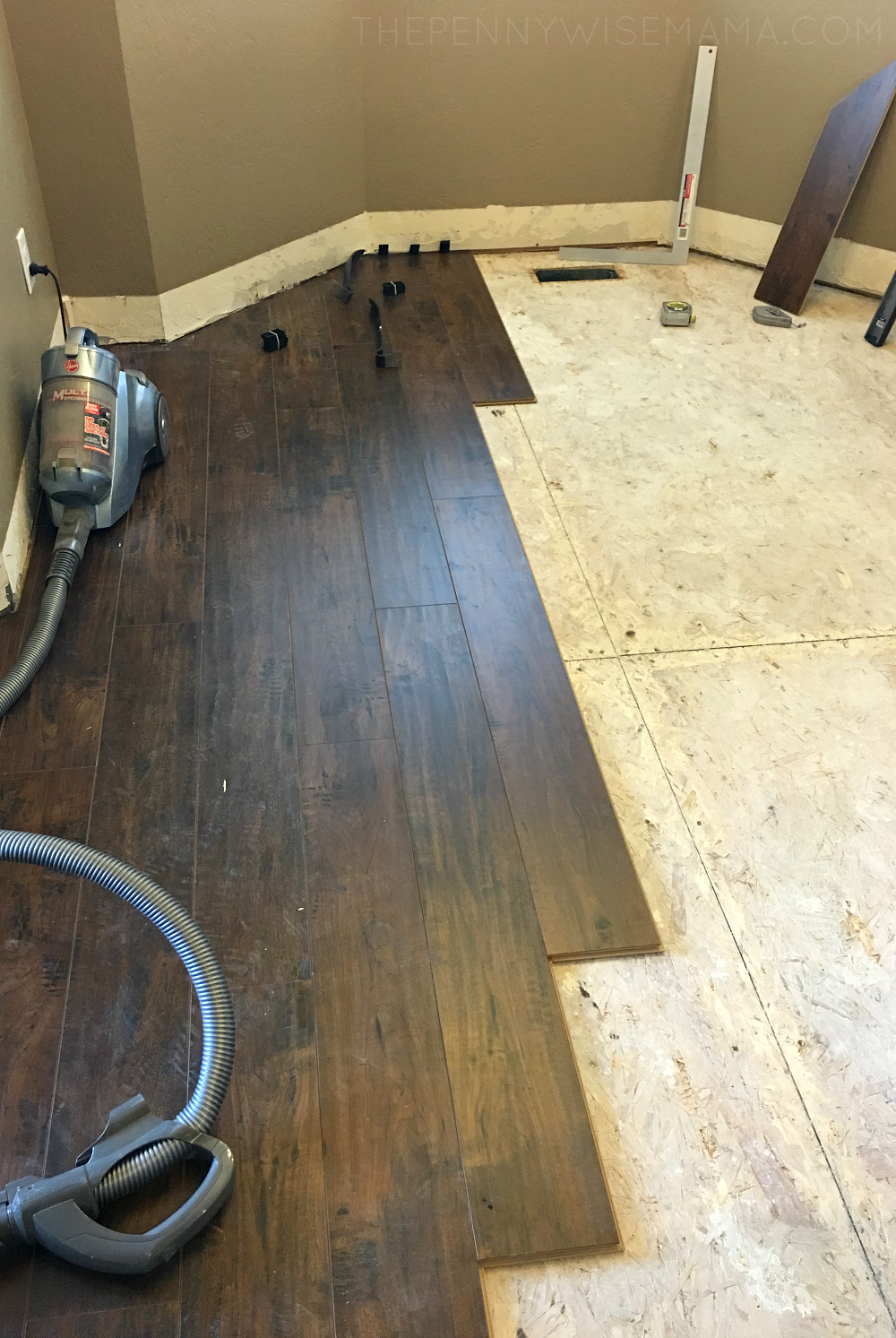 Select Surfaces Laminate Flooring Installation