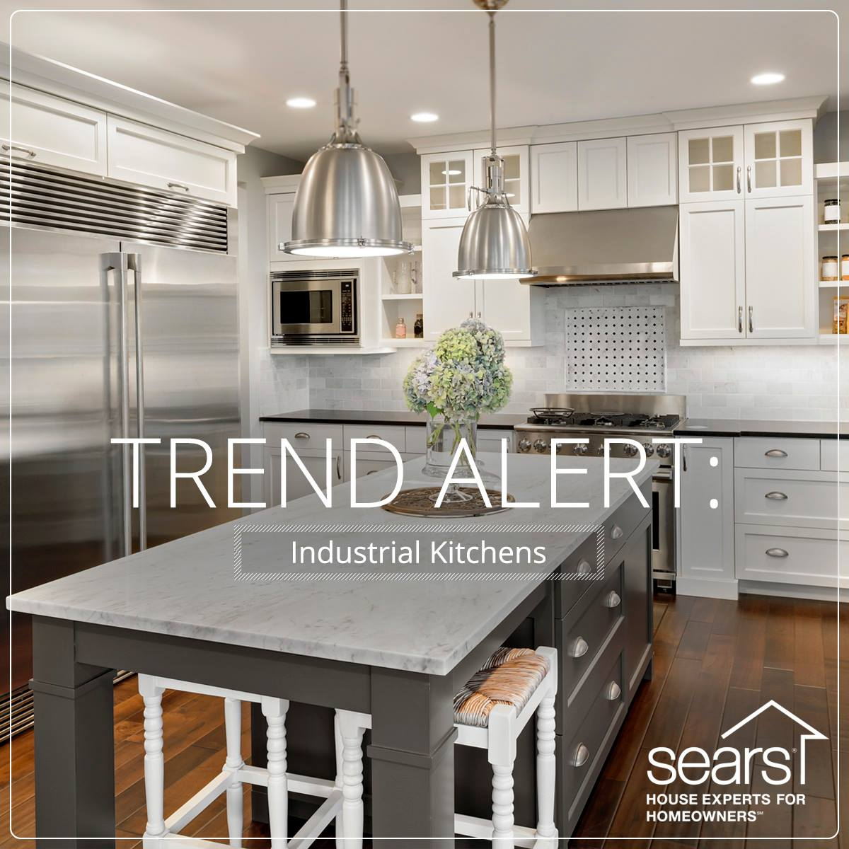 build dream kitchen budget sears kitchen remodel Trend Alert Industrial Kitchens