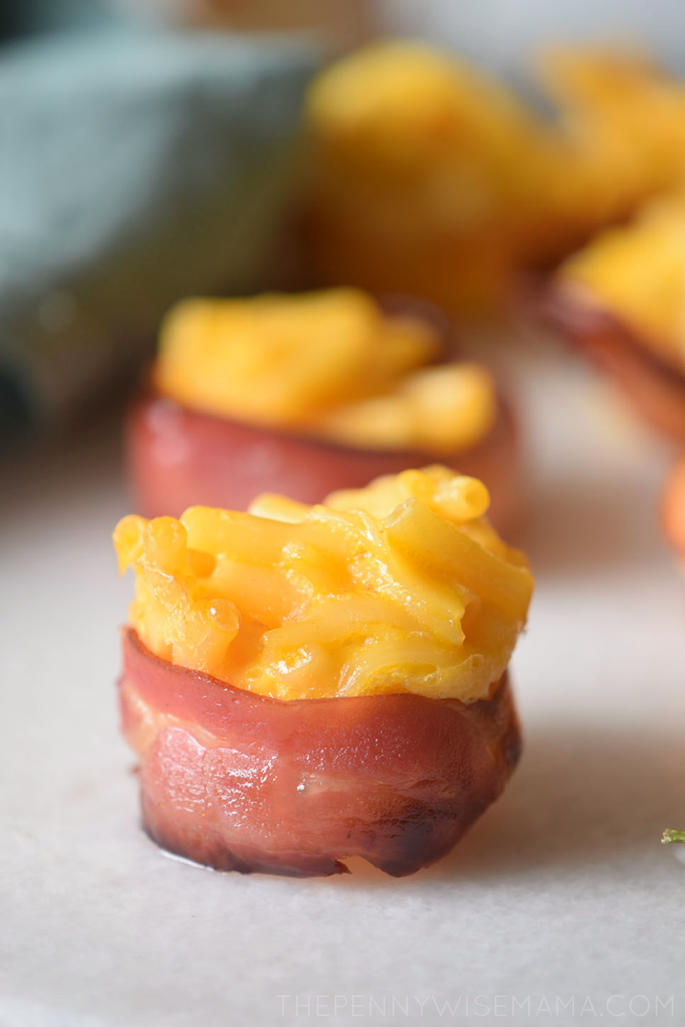 Bacon-Wrapped Mac & Cheese Bites - yummy snack or appetizer!