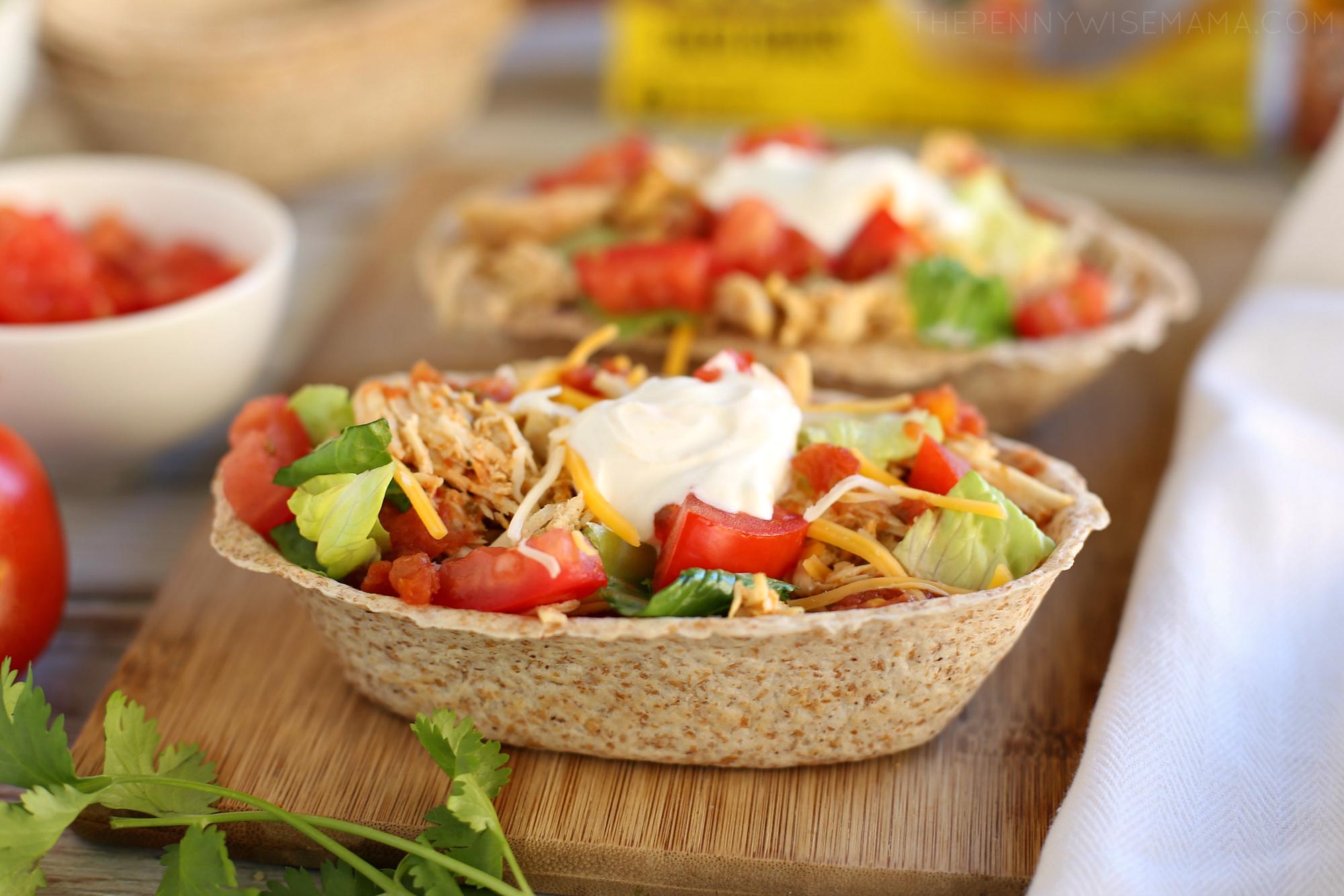 Slow Cooker Tex-Mex Chicken Burrito Bowls