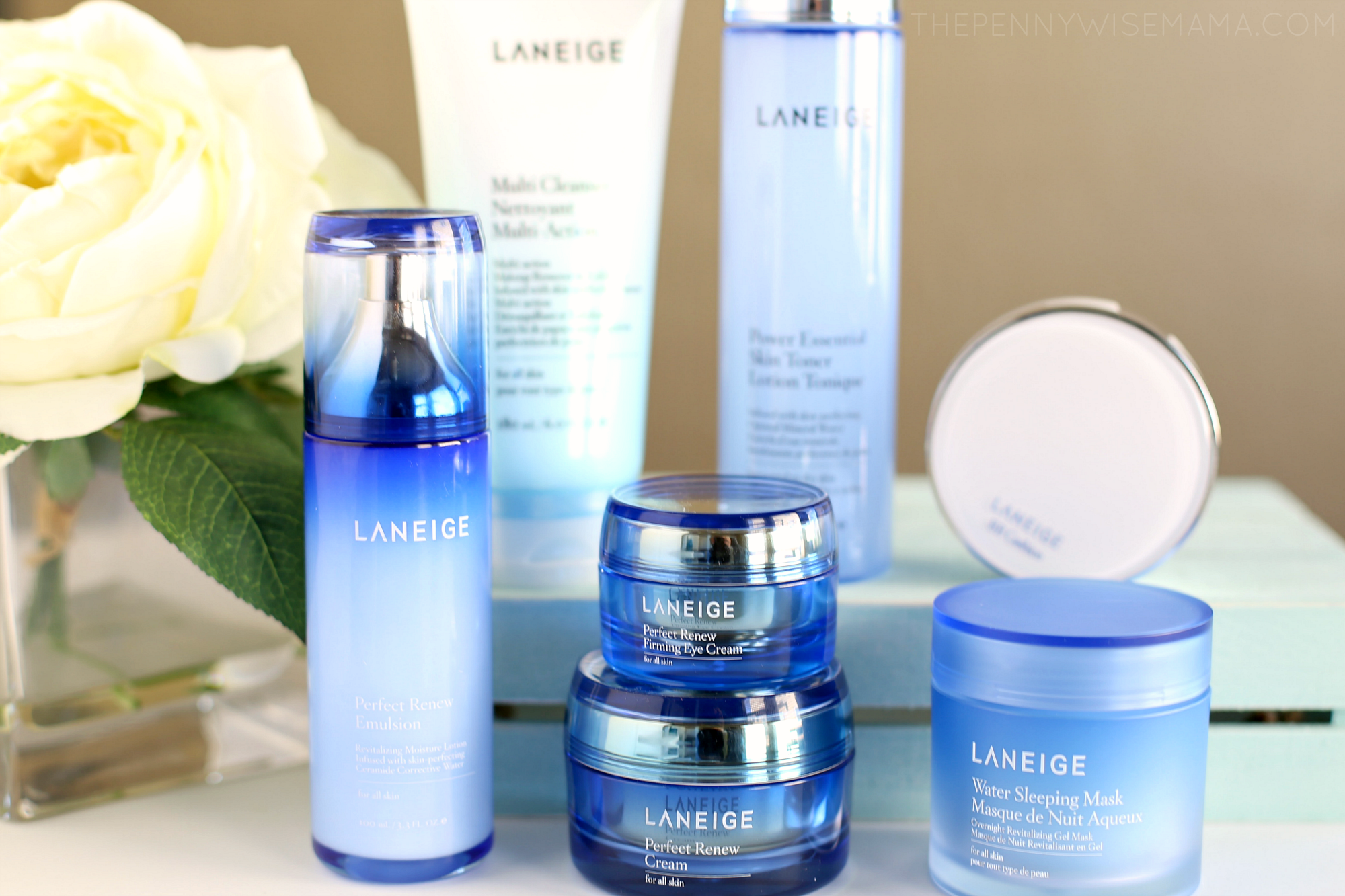 "LANEIGE ""Power of 7"" K-Beauty Regimen"