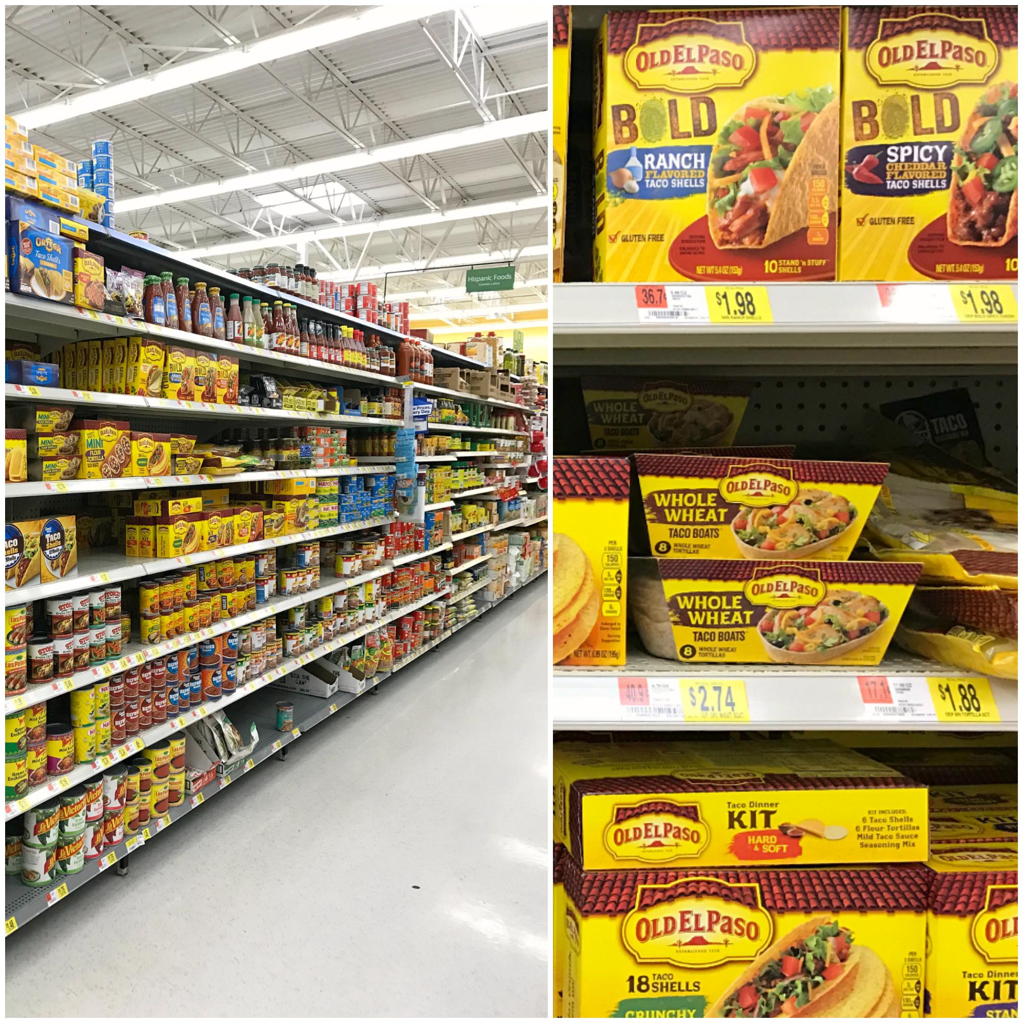 Old El Paso at Walmart