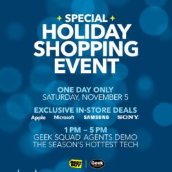 Shop Exclusive Deals at the Best Buy Special Holiday Shopping Event