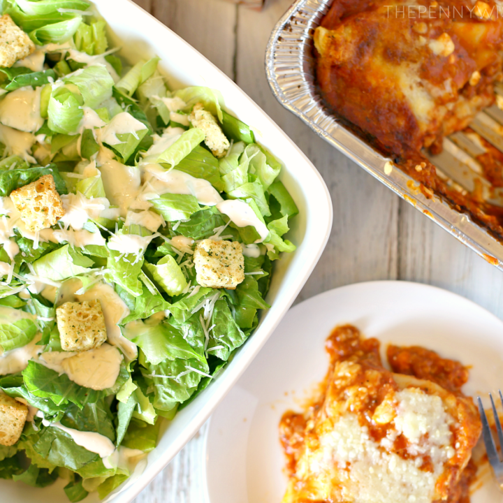 balance your plate with stouffer's lasagna with meat