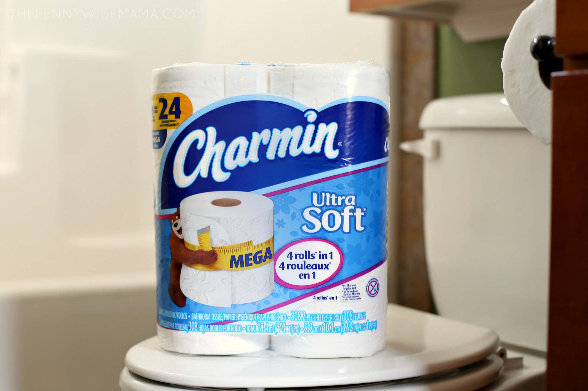 Charmin Ultra Soft Mega Roll