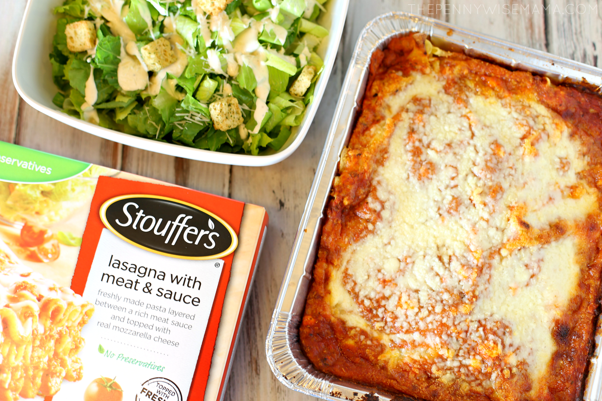 Balance Your Plate with Stouffer's Lasagna with Meat & Sauce