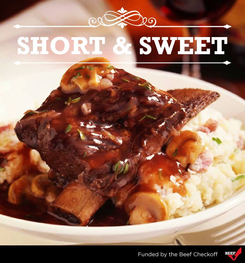 Braised Short Ribs with Red Wine Sauce