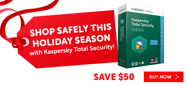 Save 50% on Kaspersky Lab Core Products