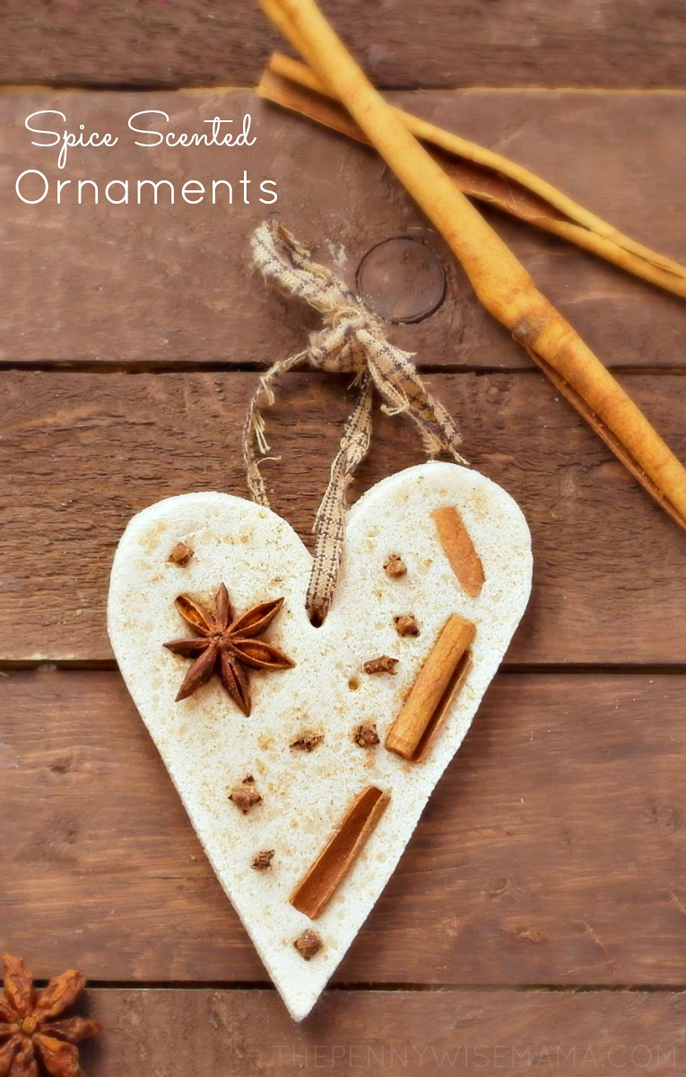 DIY Spice Sented Ornaments