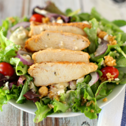 Easy Mediterranean Chicken Salad