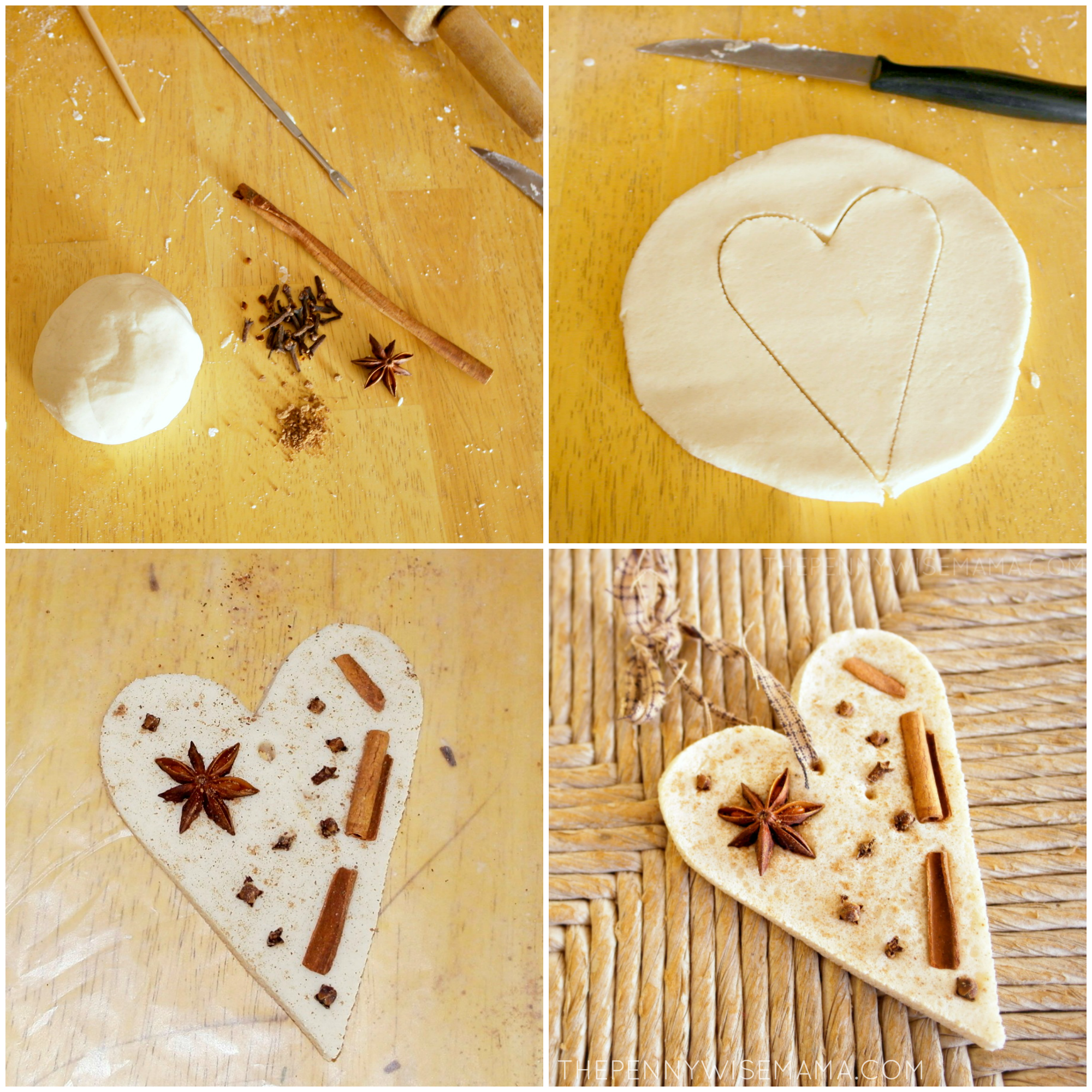 Spice Scented Ornaments Craft