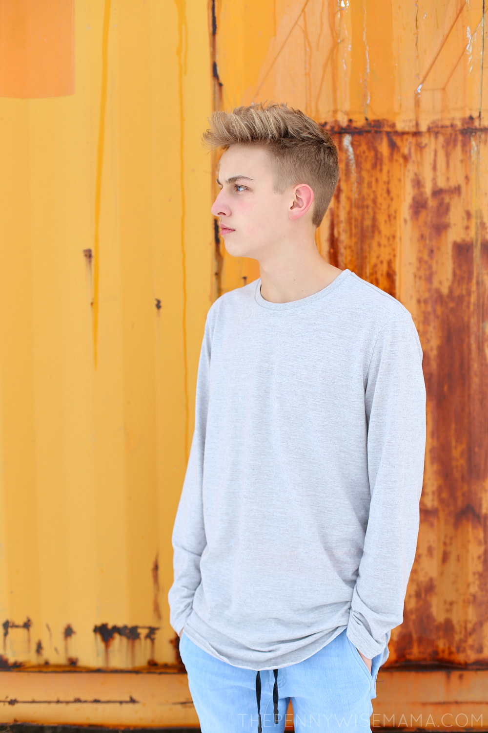 Easy Hairstyle for Teen Boys