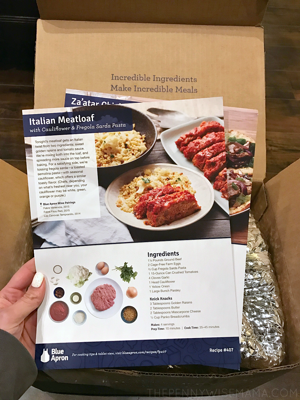 Blue apron family meals