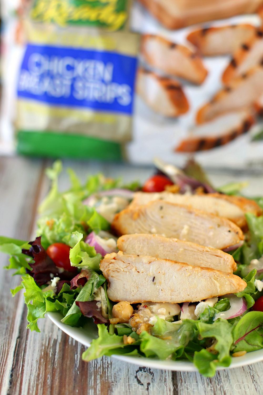 Mediterranean Chicken Salad - simple and delicious recipe