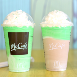 It's Shamrock Season! Enjoy New McCafe Chocolate Shamrock Shake