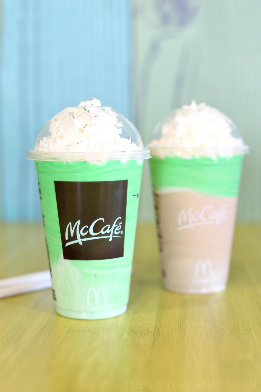 McCafe Shamrock Shake