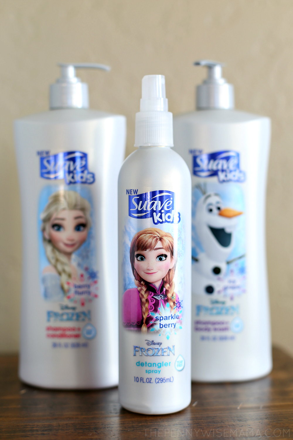 Suave Kids Disney Frozen Collection