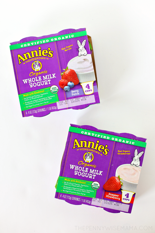 Annie's Organic Yogurt