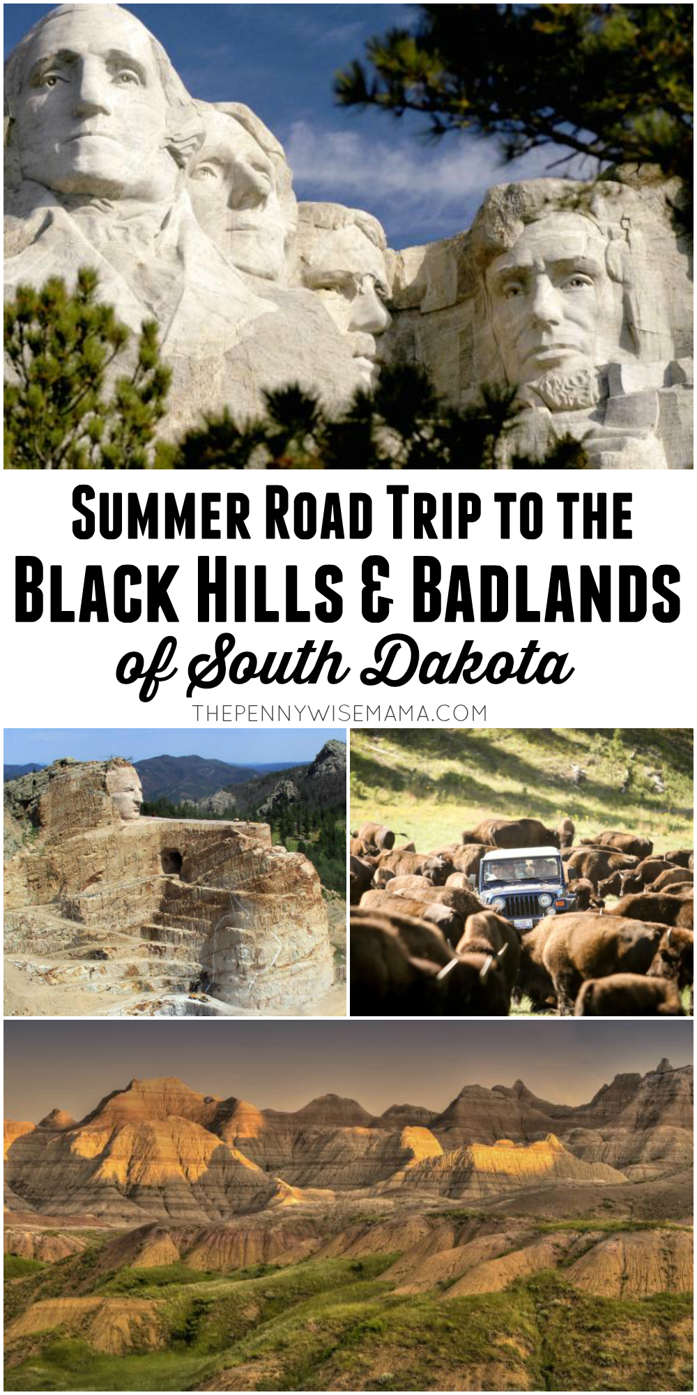 Summer Road Trip to the Black Hills & Badlands of South Dakota