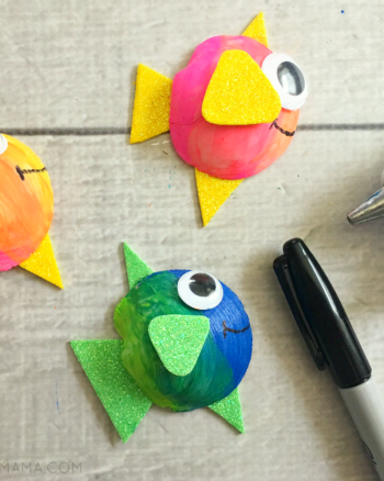 Cute Seashell Fish Craft