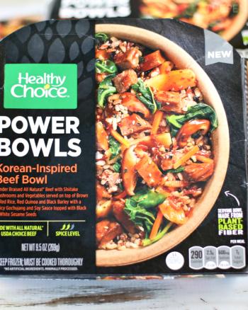 Healthy Choice Korean-Inspired Beef Power Bowl