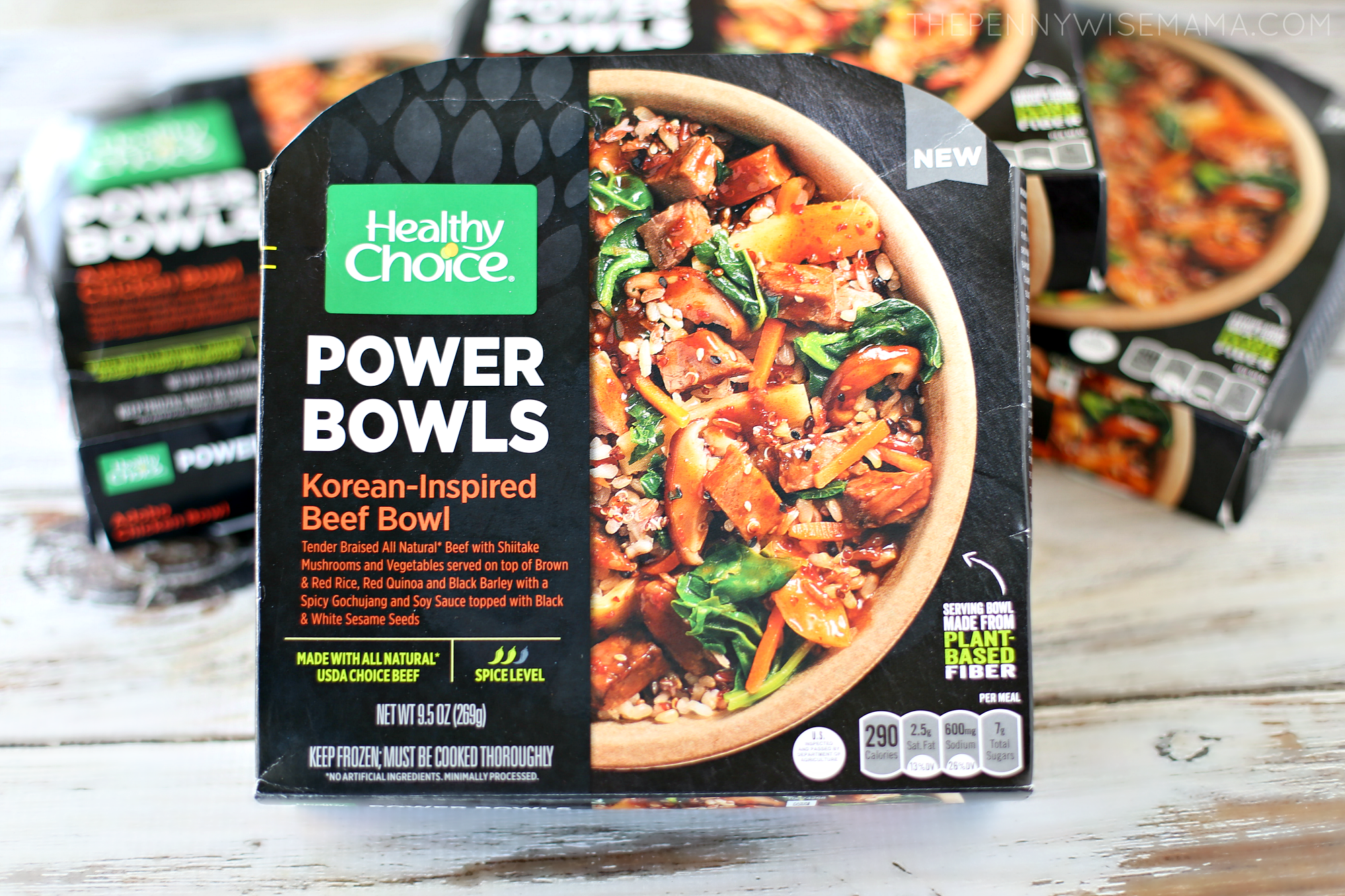 Healthy Choice Korean-Inspired Beef Power Bowl