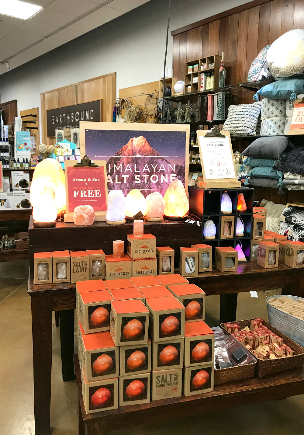 Mother's Day Gift Idea: Himalayan Salt Rock Lamp