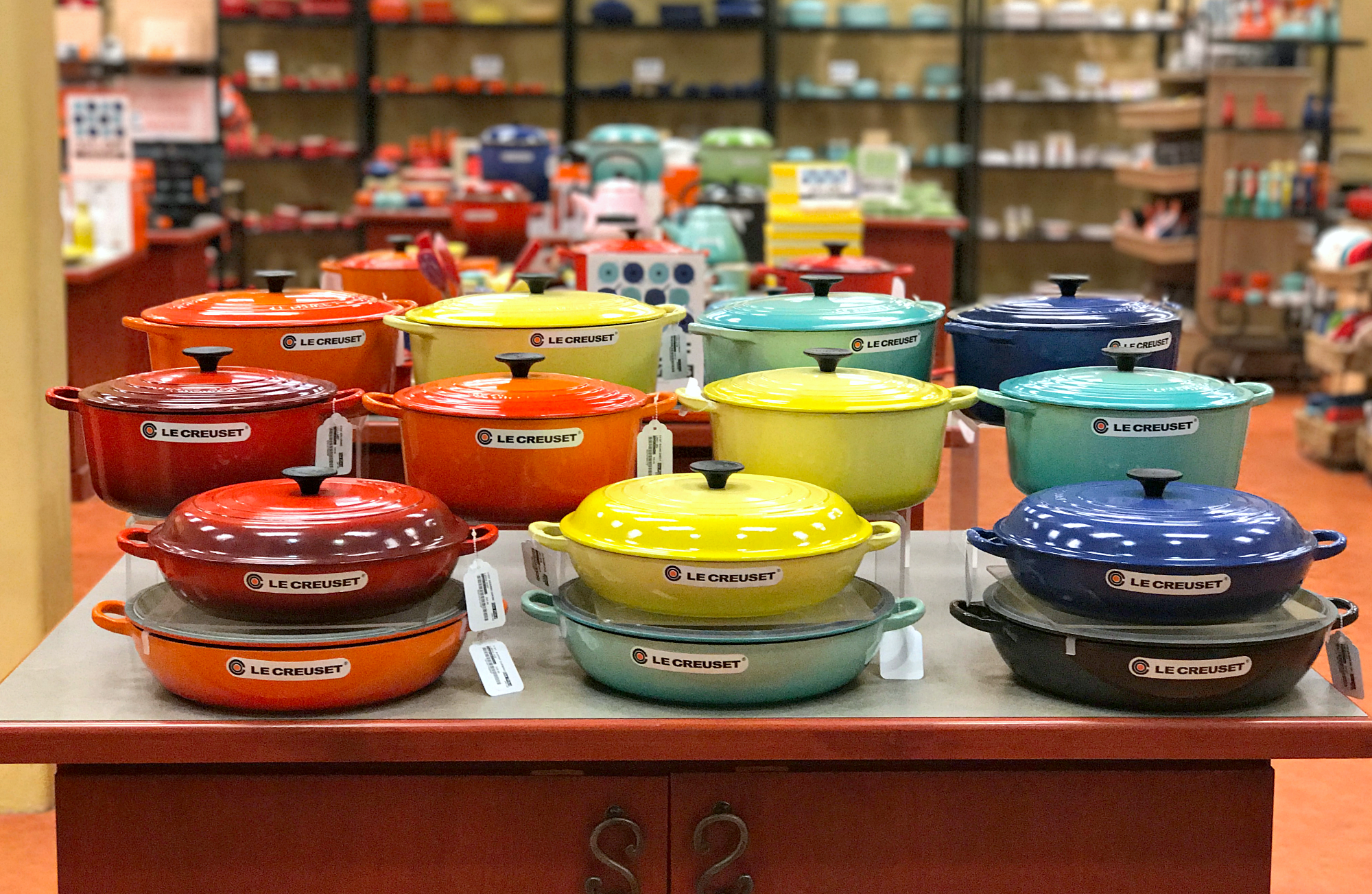 Mother's Day Gift Idea: LE CREUSET Cookware