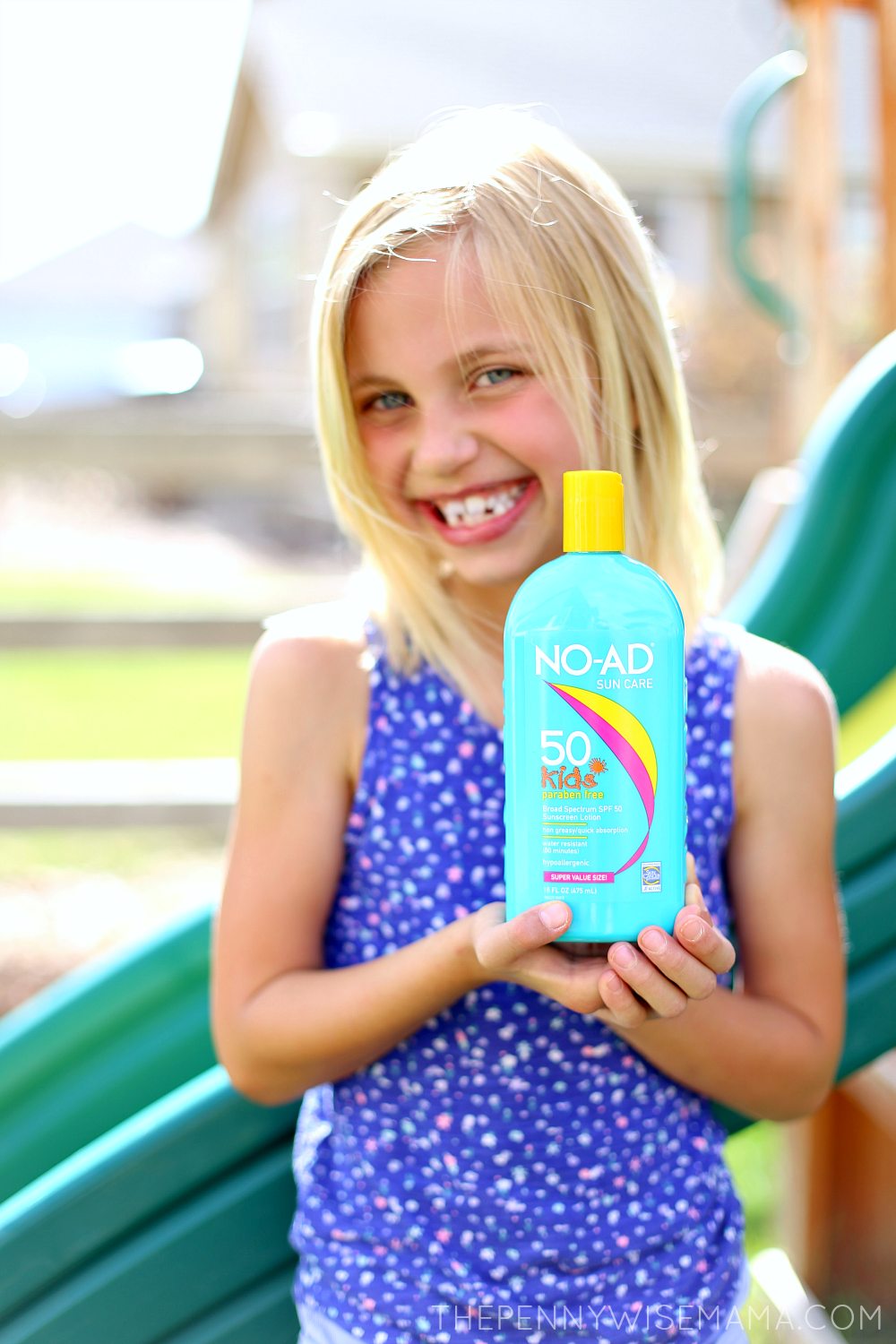 NO-AD Sunscreen for Kids
