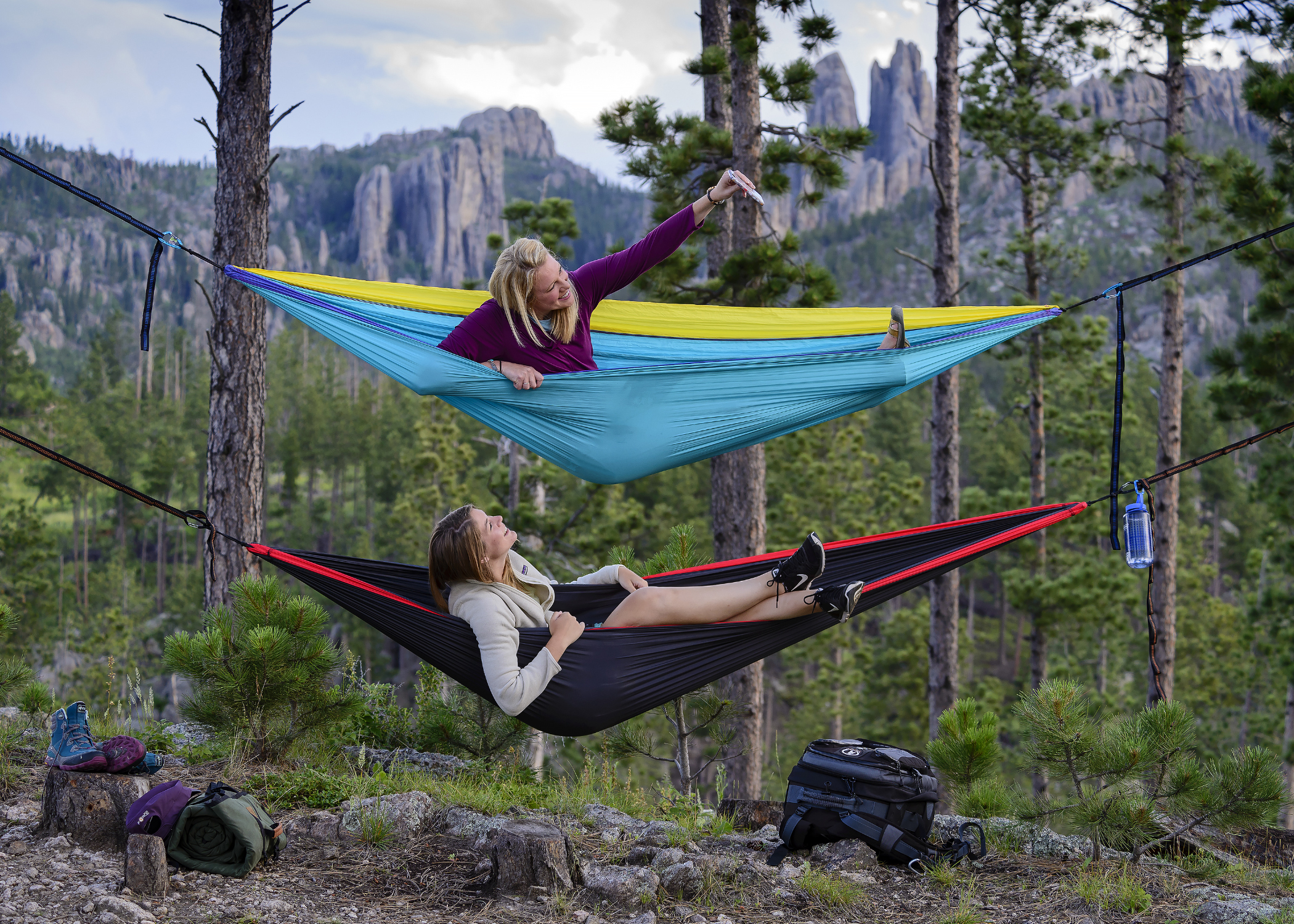 Camping at Custer State Park