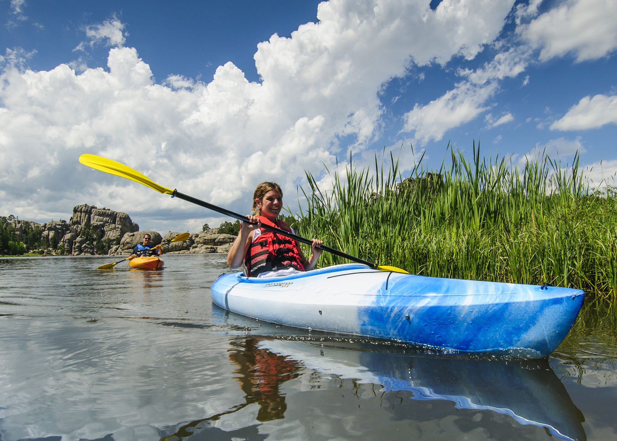 Kayaking at Custer State Park