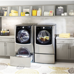Save Time & Money with LG Front Load Laundry at Best Buy
