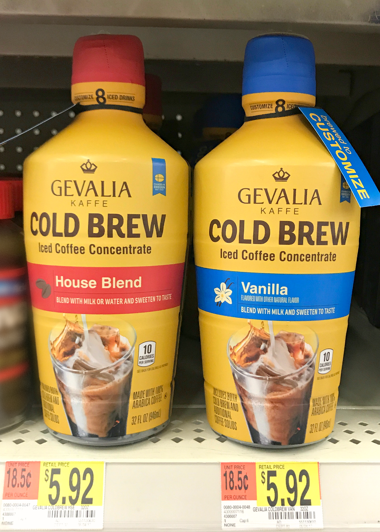 Gevalia Cold Brew at Walmart