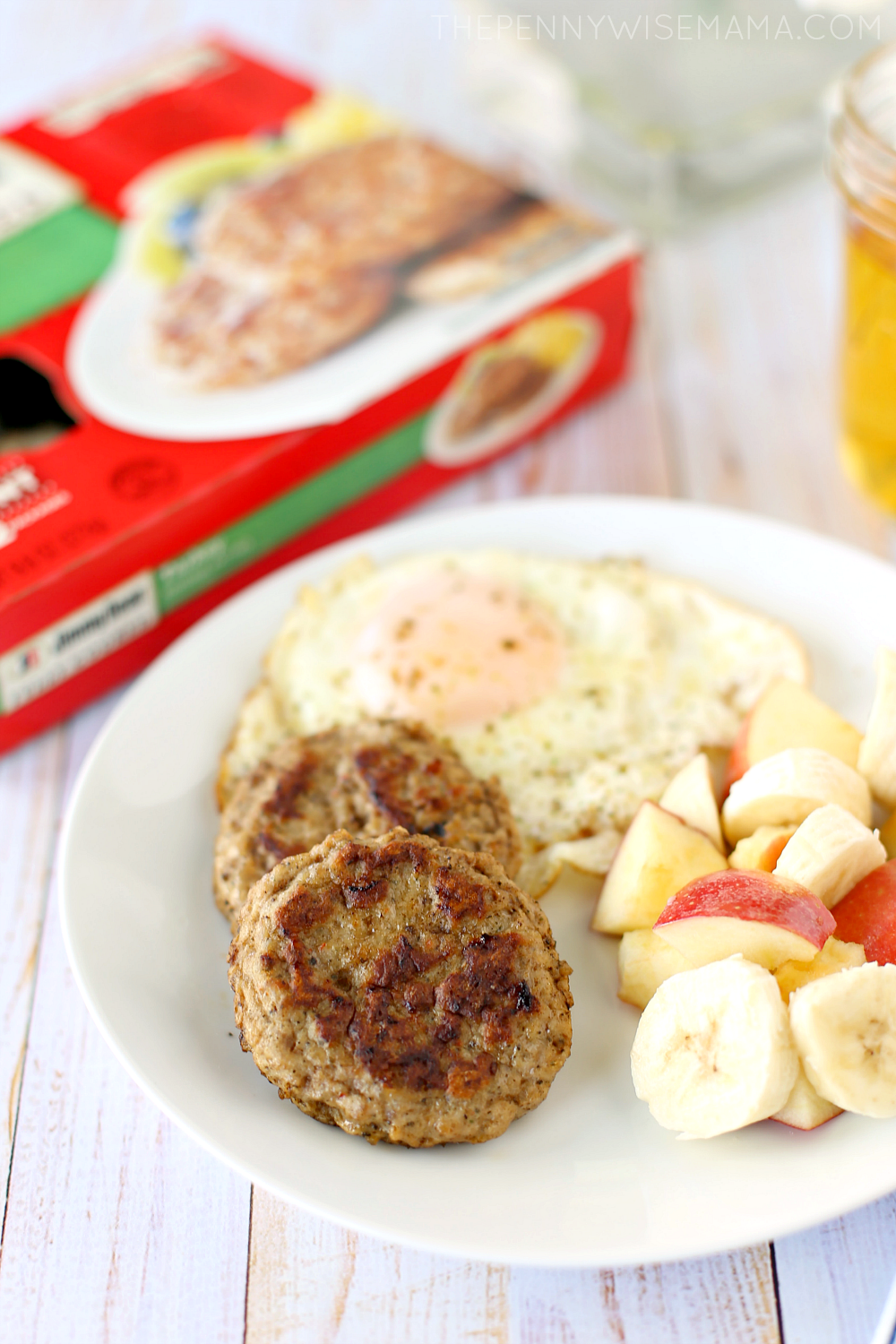 Easy Breakfast Featuring Jimmy Dean Fully Cooked Turkey Sausage Patties