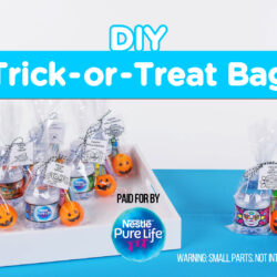 Healthy DIY Trick-or-Treat Bags for Halloween