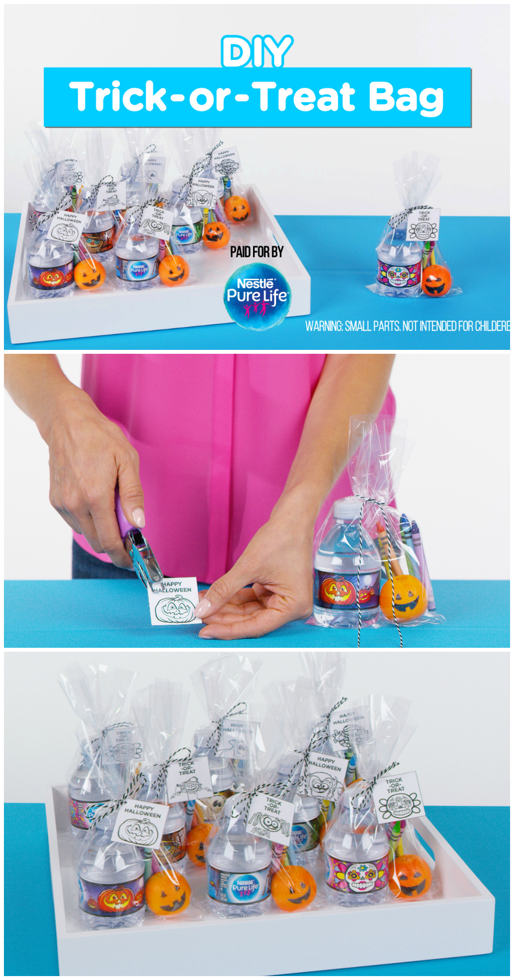 DIY Trick-or-Treat Bags for Halloween