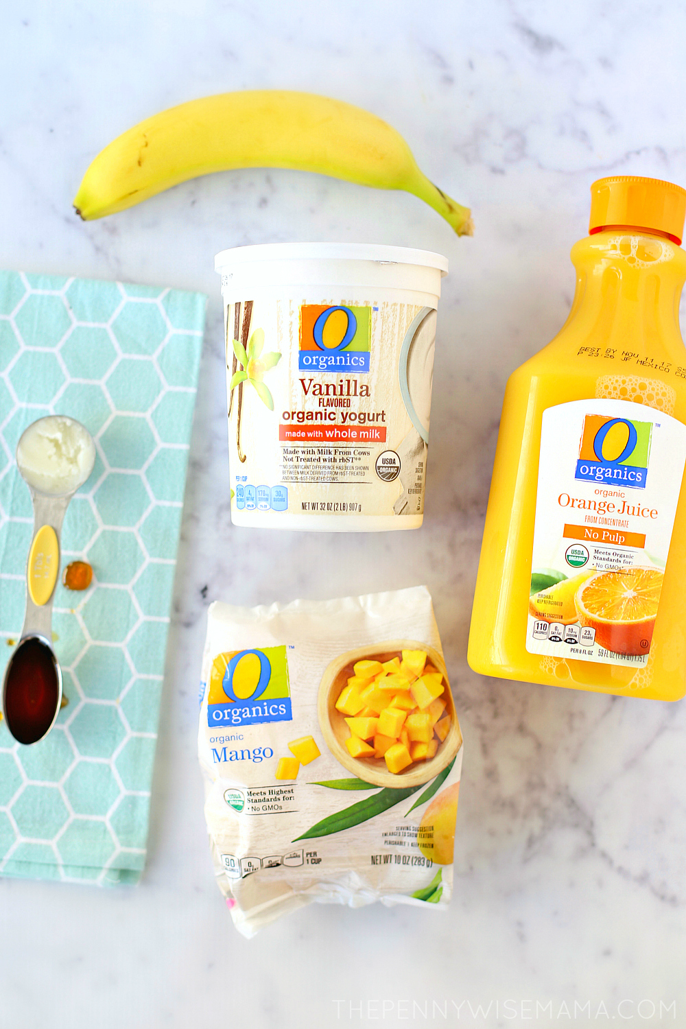 Mango Orange Banana Smoothie Recipe