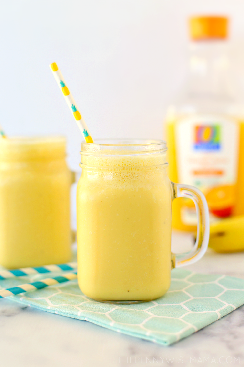 Mango Orange Banana Cold Buster Smoothie
