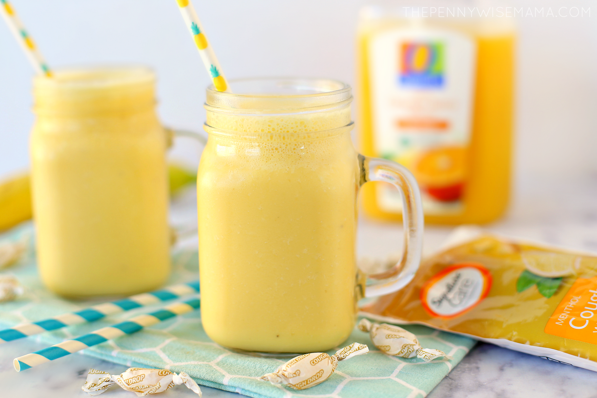 Mango Orange Banana Smoothie