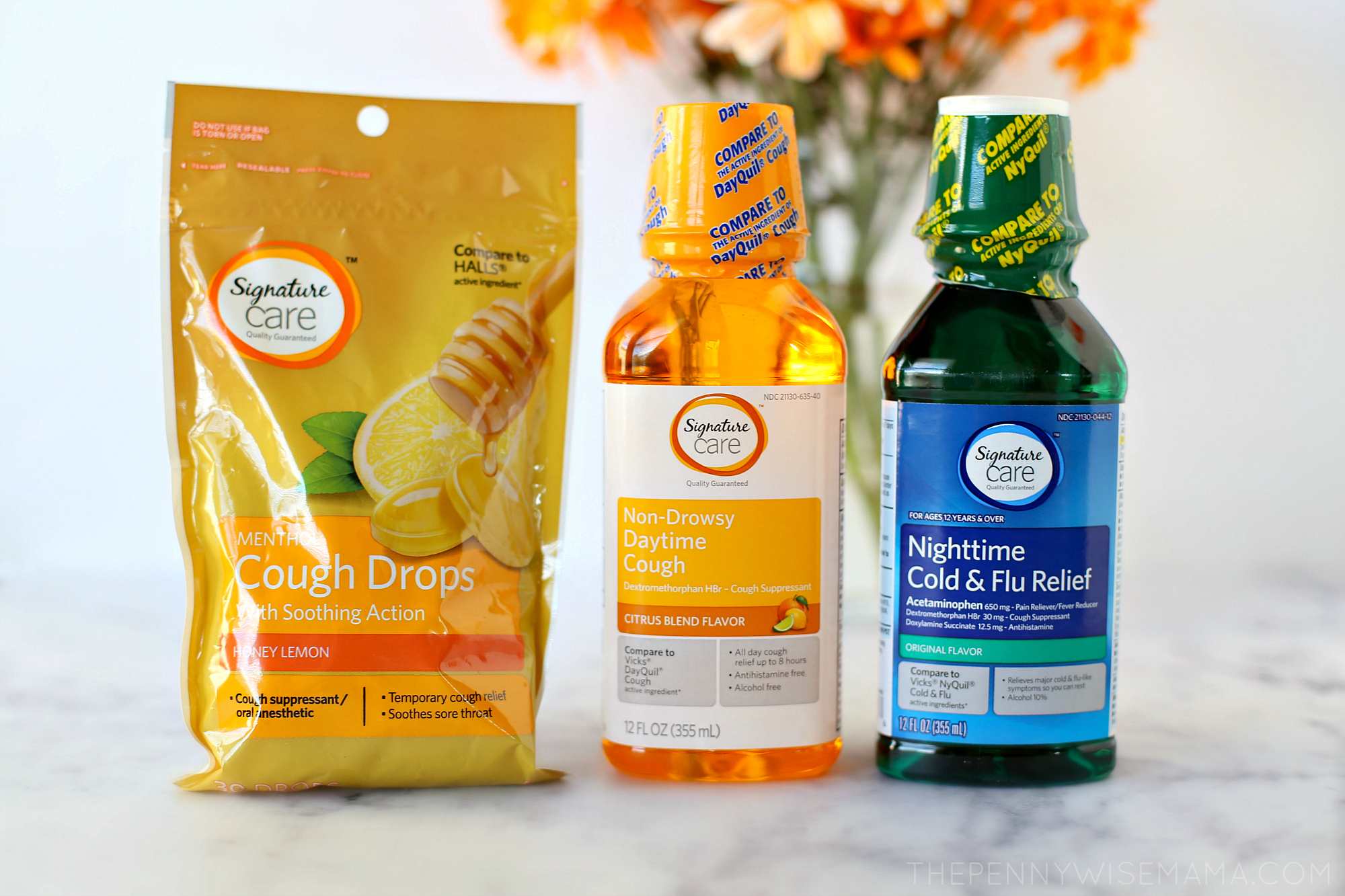 Signature Care Cough & Cold Products from Safeway