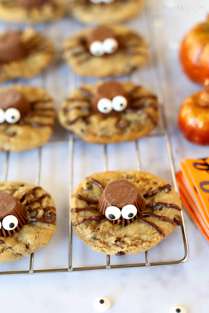Cute Spider Cookies for Halloween - gluten-free & delicious!