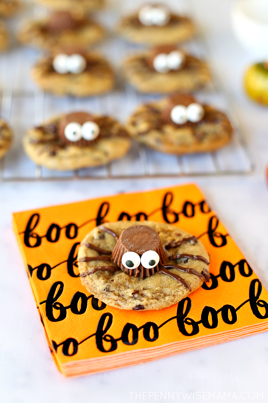 Easy Gluten-Free Spider Cookies for Halloween