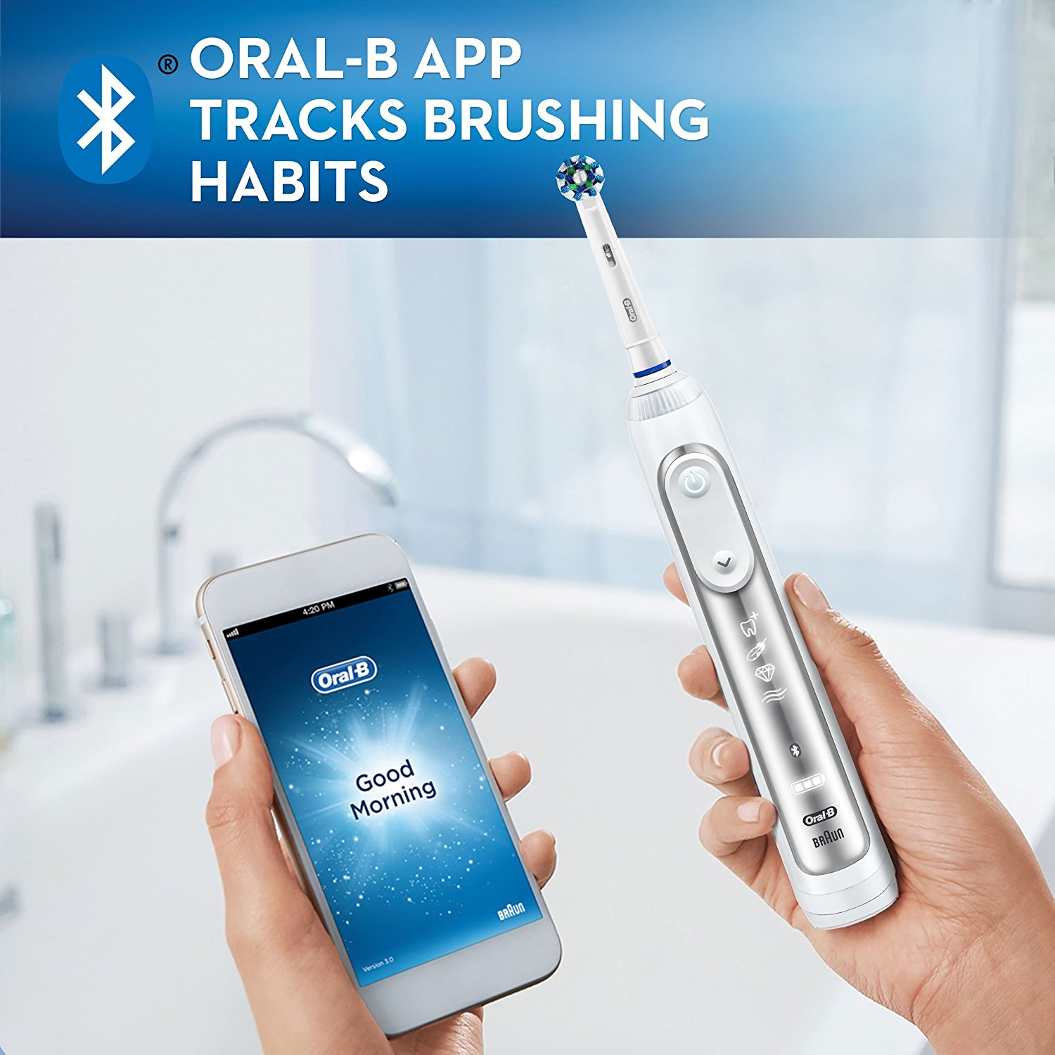 Oral-B App Tracks Brushing Habits