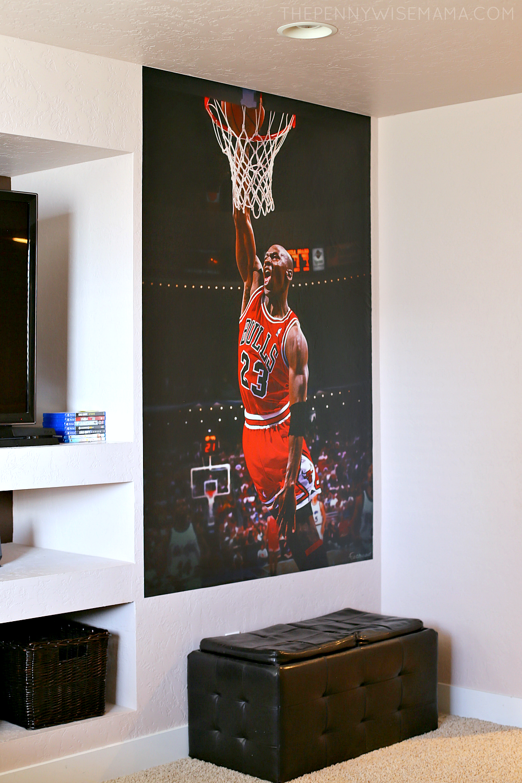 Michael Jordan Fathead Wall Mural